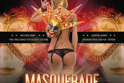bal masqué du meilleur club de Striptease