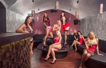 VIP Raum im europäischen Strip Club 4 Play Lounge